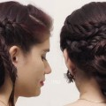 Braided-Updo-Hairstyle-for-Medium-Long-Hair-Tutorial-Hairstyle-for-long-hair-2018