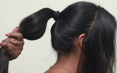 Different-Bun-Hairstyles-for-Long-hair-Hairstyles-ideas-for-partyweddingfunction-hairstyles2018