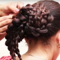 Easy-Quick-Braided-Hairstyle-for-School-Girls-Girl-Hairstyle-for-Long-hair-Tutorial