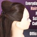 Easy-everyday-hairstyle-hairstyle-for-college-work-party-outgoing-long-hair-hairstyle