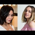Easy-short-haircut-Fine-short-bob-summer-hair-compilation