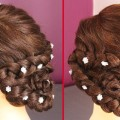 Flower-Bun-Hairstyle-for-Girls-and-Women-Easy-Hairstyle-for-Long-Hair-Hairstyles-Tutorial