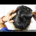 How-To-Fix-Long-Hair-Chopstick-Bun-Stick-Bun-For-Long-Hair-Indian-Hairstyle-ASMR