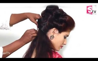 Latest-Layered-Rolled-Bun-hairstyles-for-long-straight-hair-Lovely-Bun-Hairstyles-For-Long-Hair