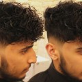 Low-Skin-Fade-Curly-Haircut-For-Men-With-Disconnected-Undercut-Clipper-Noise-No-Music-