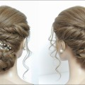 New-Juda-Hairstyle-Tutorial-For-Long-Hair.-Braided-Bun