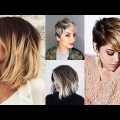 Ombre-Short-Hairstyles-Bob-Haircut-Tutorial-2018