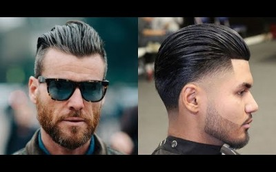 Slick-Back-Haircut-Best-New-Mens-Hairstyles-Summer-2018