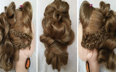 Trendy-Mohawk-Updo-Hairstyle-Tutorial-For-Long-Hair-Easy-Hairstyles-For-Girls