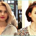 14-Gorgeous-Short-and-Medium-haircuts-for-women-Professional-Haircut-compilation