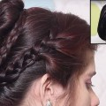 2-Different-Updo-Bun-Hairstyles-for-Long-Hair-Girls-Easy-Hairstyle-Tutorials