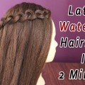 Beautiful-Waterfall-Hairstyle-Simple-Hairstyle-Beautiful-Long-Hair-Hairstyle-for-Party-Hairstyle