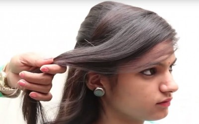 Beautiful-hairstyles-for-school-college-office-QUICK-Everyday-Hairstyles-For-Medium-Long-Hair