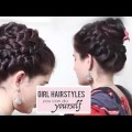 Best-Spring-Braid-Formal-Summer-Braid-Bun-Hairstyles-for-long-hair-Tutoreials-2018.