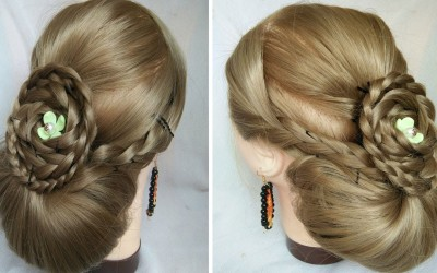 Braided-Updo-Hairstyle-for-Long-Hair-Wedding-Prom-Updo-Elegant-updos-cute-hairstyle