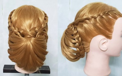 Braided-updo-hairstyle-for-long-hair-tutorial-Perfect-Braided-Bun-Hairstyle-For-Long-Hair-Tutorial