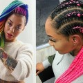 Color-Box-Braids-Hairstyles-for-Black-Women-Black-Box-Braids-with-Color
