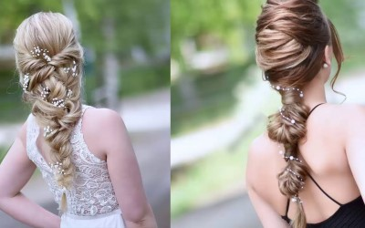 Cute-Prom-Hairstyles-For-Medium-Long-Hair-Hair-Tutorial-Compilation