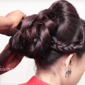 Different-bridal-hair-style-for-long-HairHair-style-step-by-step-Tutorial