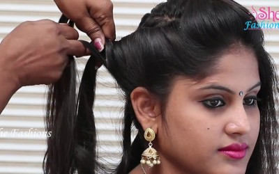 Fastest-Hair-Style-For-long-hair-2018-Step-by-Step-tutorial-2018