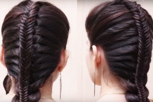 Fishtail-French-Braid-Hairstyles-for-Ladies-Easy-Fashion-Hairstyles-2018
