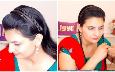 Headband-with-Puff-Everyday-Quick-Easy-Hairstyles-for-medium-to-long-Hair