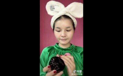 Makeup-tips-hairstyle-for-long-hair-videos-in-tik-tok-China-douyin-Vol.028