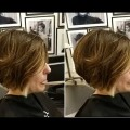 Short-layered-bob-haircut-tutorial-Short-layered-haircut-for-women