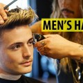 Skin-Fade-Textured-Quiff-Haircut-Hairstyle-ft.-BluMaan-Mens-Summer-Haircut-2018