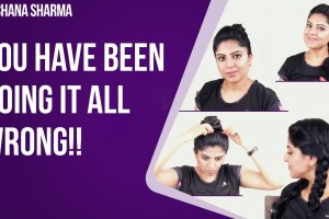 TOP-3-Best-Hair-Styles-for-Women-Workout-Hairstyles-Tutorial-Be-Beautethical-Archana-Sharma