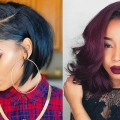 Trendy-Bob-Hairstyles-2019-Black-Women-Bob-Haircuts-for-Black-Women-2019-with-Short-Medium-Hair