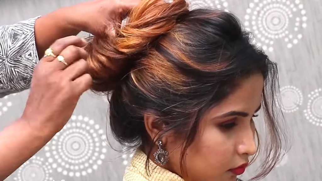 1 Minute Bubble Bun Hairstyle Easy Hairstyles For Short Medium