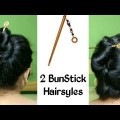 2-Easy-Juda-Hairsyles-with-Bun-Stick-Chinese-Bun-Cute-hairstyles-Hairsyles-for-Girls