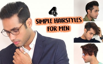 4-SIMPLE-Hairstyles-For-Indian-Men-With-Medium-Hair-2018