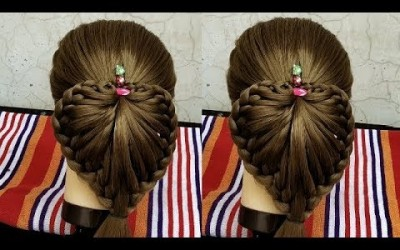 Braided-Heart-Hairstyles-for-Party-school-home-long-hair-long-hair