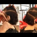 Curly-Shag-Bob-Haircut-step-by-step-Short-Textured-Bob-Haircut