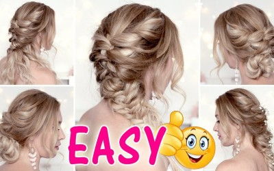 EASY-and-CUTE-HAIRSTYLES-for-mediumlong-hair-tutorial-Back-to-school
