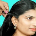 Easy-Party-Hairstyle-for-long-hair-Tutorial-2018-everyday-Hairstyles-Girls-Hairstyles