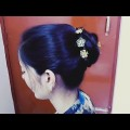 Easy-Unique-Hairstyle-Bun-For-Party-Lovely-hairstyle-for-long-hair-by-neelam-Singh