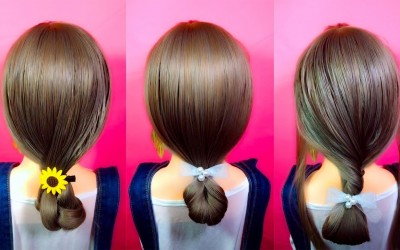 Easy-and-Quick-Hairstyles-for-long-hair-Long-Hair-Hairstyles-for-girls-Long-hair-style