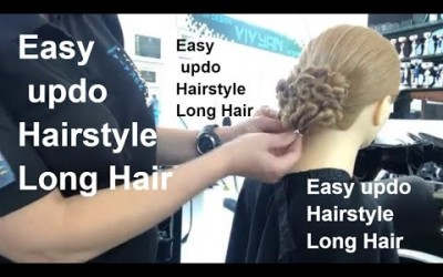 Easy-updo-Hairstyle-Long-Hair-Lang-Haar-OPSTEKENRecogido