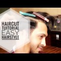 Haircut-Tutorial-Easy-Simple-Hairstyle-For-Men-2018-Hamza-khan-shayan