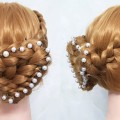 Hairstyle-French-Roll-Beautiful-Long-Hair-Hairstyle-for-Party-HairLatest-Hairstyle-For-Parties