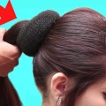 High-ponytail-hairstyles-for-long-hair-puff-hairstyles-for-girls-Easy-Hairstyles-videos-2018