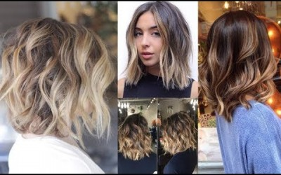 How-To-Short-Balayage-Hairstyles-Balayage-Hair-Tutorial-2019