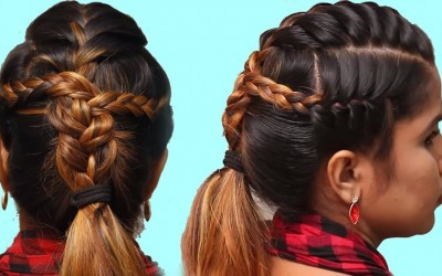 How-to-Braided-ponytail-hairstyles-for-ShortMedium-hair-Hair-style-Girl-Trendy-Hairstyles