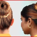 Lovely-Bun-Hairstyles-For-Long-Hair-Modern-Bun-Hairstyles