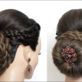 Perfect-Bridal-Bun-Updo.-Hairstyle-For-Long-Hair-Tutorial