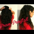 Ponytail-Hairstyle-Prom-Ponytail-For-MediumLong-Hair-Long-Volumized-Ponytail-Hairstyles