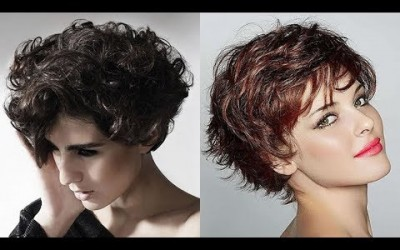 Short-Curly-Haircuts-for-Women-2019